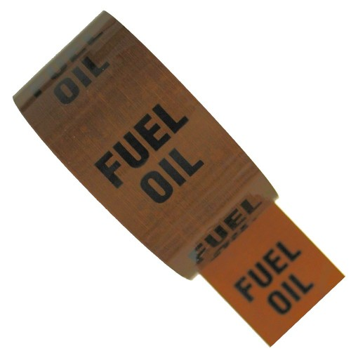 FUEL OIL - Colour Printed Pipe Identification (ID) Tape