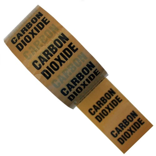 CARBON DIOXIDE (CO2) - Colour Printed Pipe Identification (ID) Tape