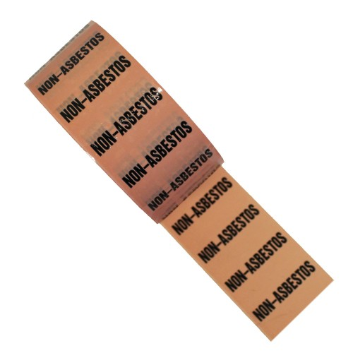 NON-ASBESTOS (48mm) - Colour Printed Pipe Identification (ID) Tape