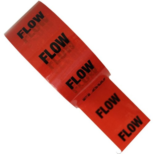 FLOW - Colour Printed Pipe Identification (ID) Tape