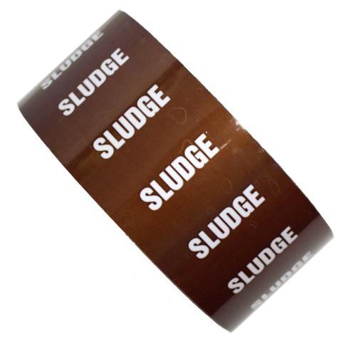 SLUDGE - All Weather Pipe Identification (ID) Tape