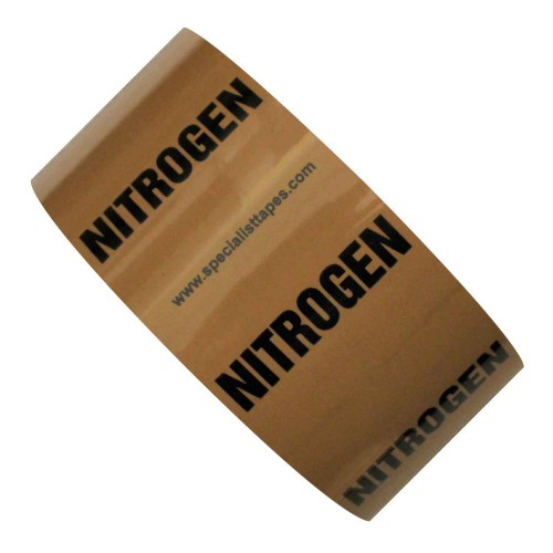 NITROGEN - All Weather Pipe Identification (ID) Tape
