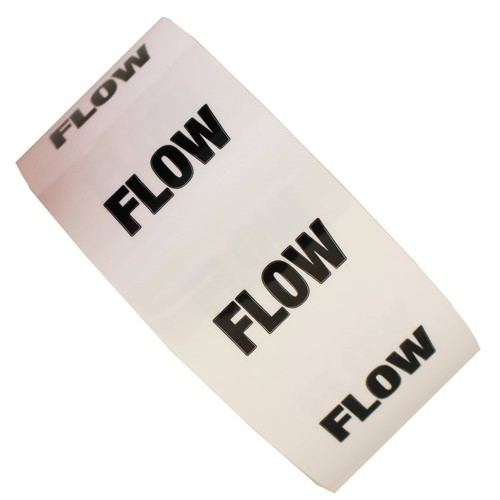 FLOW - All Weather Pipe Identification (ID) Tape