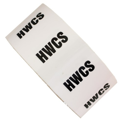 HWCS - All Weather Pipe Identification (ID) Tape