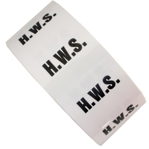 H.W.S. - All Weather Pipe Identification (ID) Tape