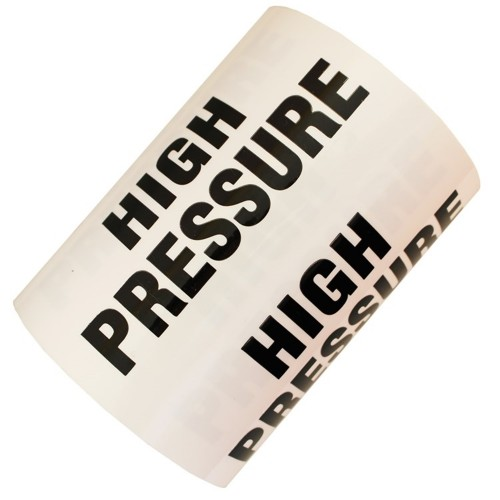 HIGH PRESSURE - All Weather Pipe Identification (ID) Tape