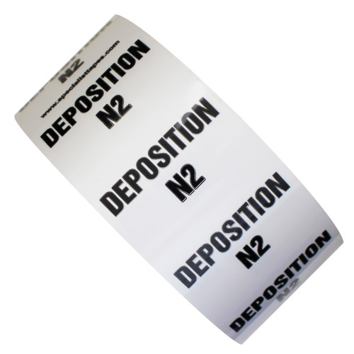 DEPOSITION N2 - All Weather Pipe Identification (ID) Tape