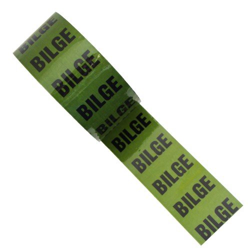 BILGE - Colour Printed Pipe Identification (ID) Tape