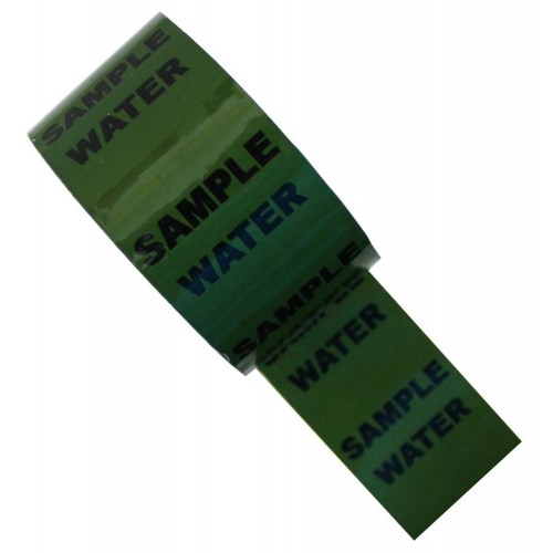 SAMPLE WATER - Colour Printed Pipe Identification (ID) Tape