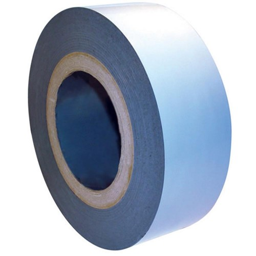 White Coated Co-Extruded Low Tack Protection Tape - 25mm x 150m (Price per box)