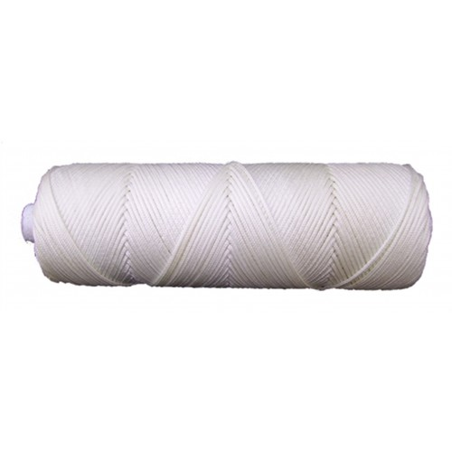 2mm Nylon White Braided Nylon Cord/String - 4H