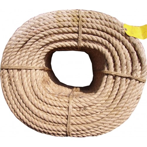14mm Campbell Hemp/Flax Natural Rope (Price per m)