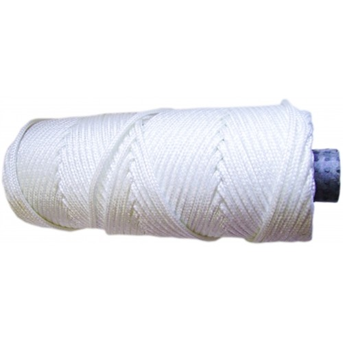 4.5mm Nylon White Braided Nylon Cord/String - 14H