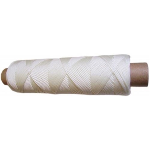 1.25mm Nylon White Braided Cord/String - 2H