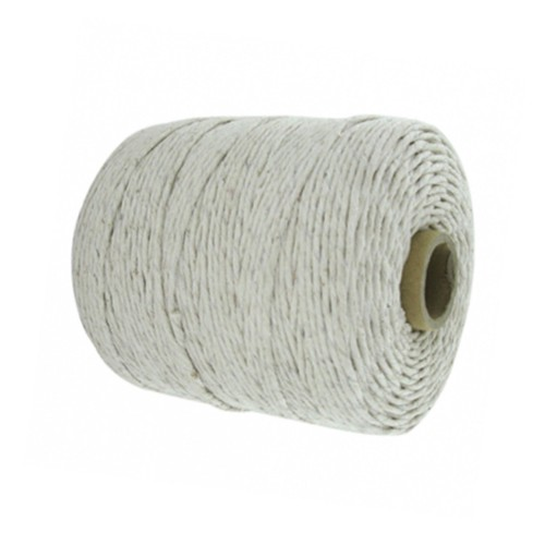 1.5mm Cotton White Natural Twine/String - Size 5 (Pack of 6 x 626m)