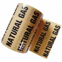 "144mm x 33m (6"") Colour Printed Indoor Pipe ID Tape"