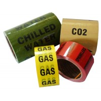 Colour Printed Indoor Pipe ID Tape