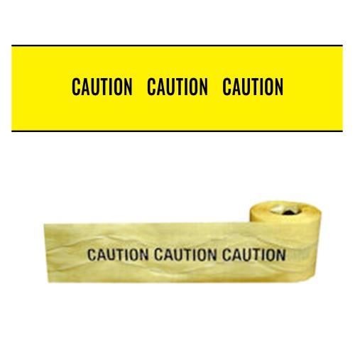 CAUTION CAUTION CAUTION - Premium Detectable Underground Warning Tape