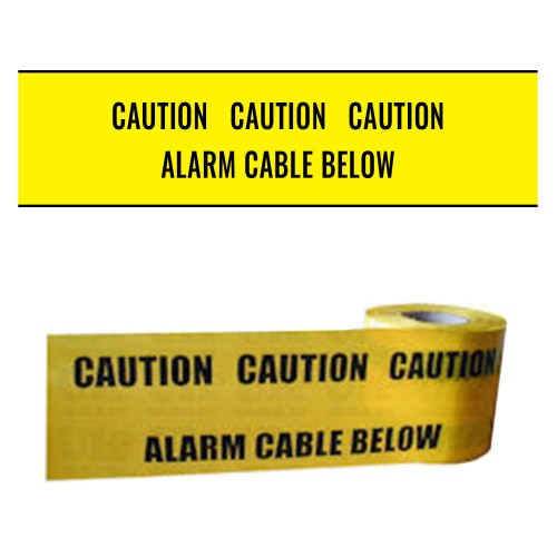 ALARM CABLE BELOW - Premium Underground Warning Tape