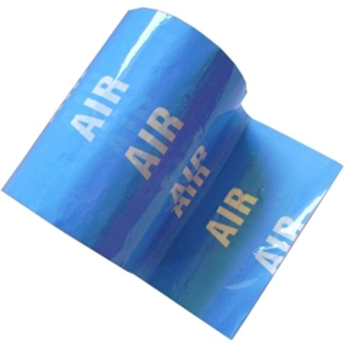 AIR - Colour Printed Pipe Identification (ID) Tape