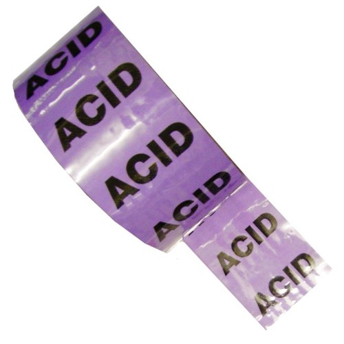 ACID - Colour Printed Pipe Identification (ID) Tape