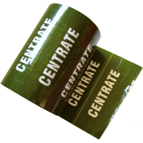 CENTRATE - Colour Printed Pipe Identification (ID) Tape