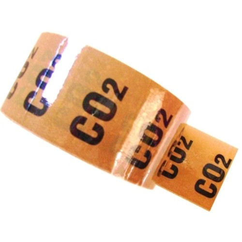 CO2 (Carbon dioxide) - Colour Printed Pipe Identification (ID) Tape