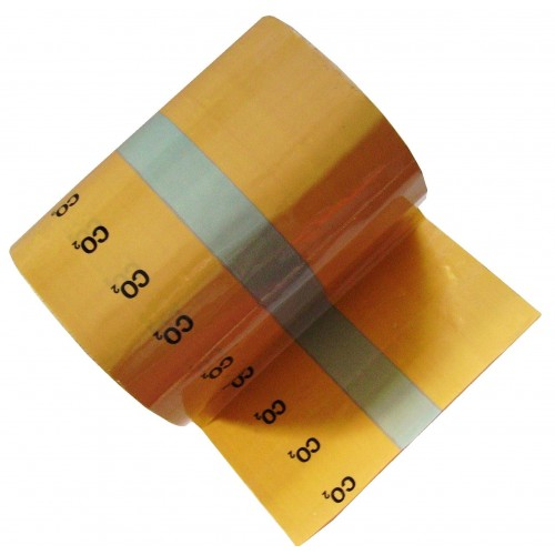 CO2 - Banded Pipe Identification (ID) Tape