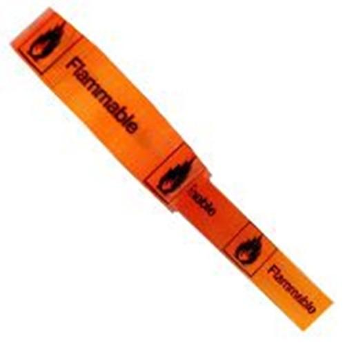 Flammable - Hazard Tape