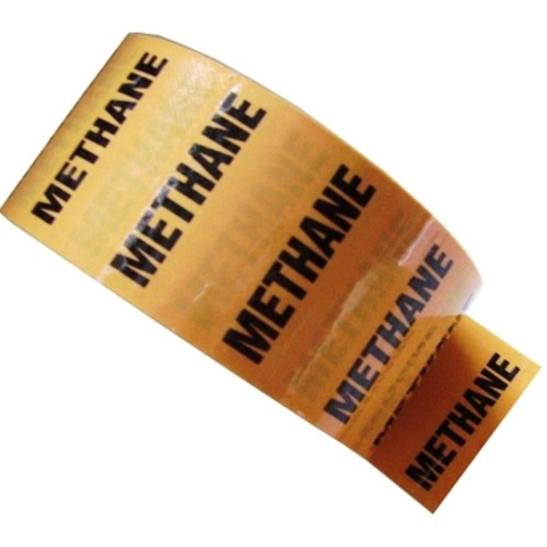 METHANE - Colour Printed Pipe Identification (ID) Tape