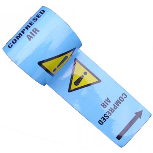 COMPRESSED AIR - Colour Printed Pipe Identification (ID) Tape