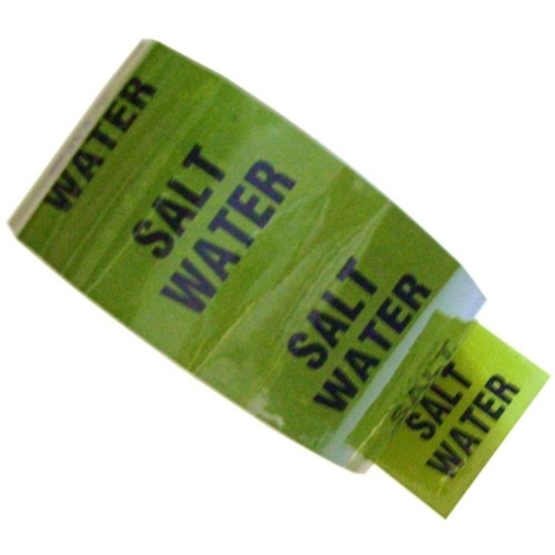 SALT WATER - Colour Printed Pipe Identification (ID) Tape