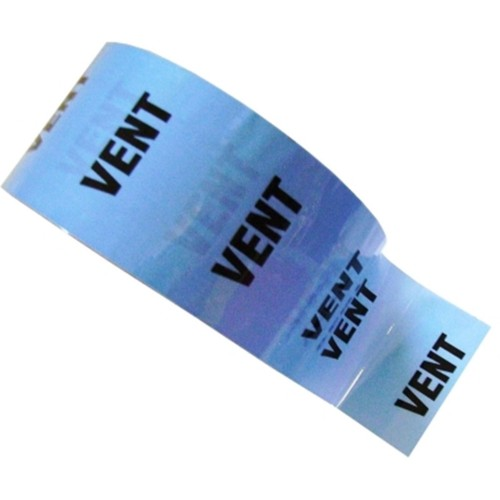 VENT - Colour Printed Pipe Identification (ID) Tape