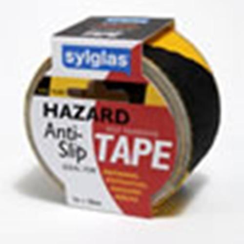 Sylglas Anti-Slip Tape - Hazard Warning