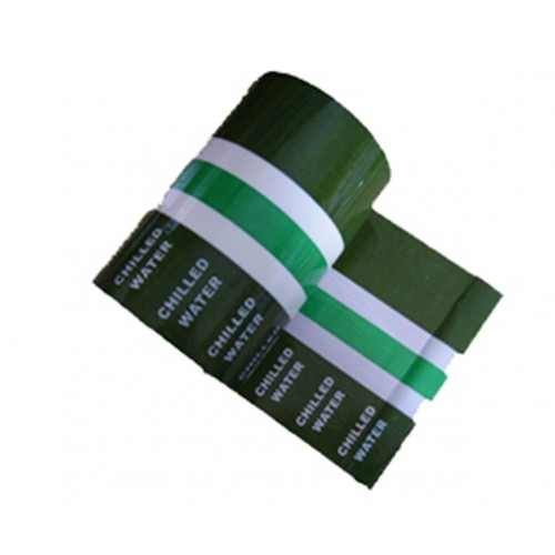 CHILLED WATER - Banded Pipe Identification (ID) Tape