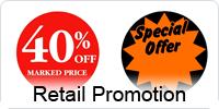Retail Promotion Labels