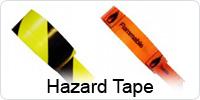 White Printed Indoor Pipeline ID Tape