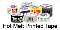 Hot Melt Custom Printed Tape