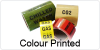 Printed Colour Indoor Pipeline ID Tape