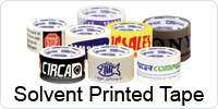 Solvent Custom Printed Tape