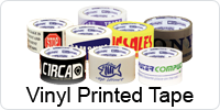 Vinyl Custom Printed Tape